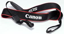 CANON EOS Black Red CAMERA STRAP Genuine R 5D 6D 1300D 70D M3 M6 7D Mark III IV