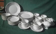 24 PC JOHANN HAVILAND BAVARIA GERMANY FLORAL SPLENDOR DINNER PLATES BOWLS CUP