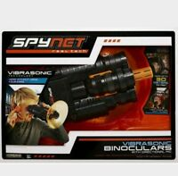 Spy Net  Vibrasonic Stealth Spy Binoculars with Microphone 100ft Range FREE GIFT