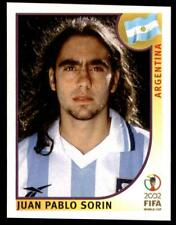 Panini World Cup Korea/Japan 2002 - Juan Pablo Sorin Argentina No. 391
