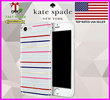Kate Spade New York Case Surprise Stripe Gold Multi for iPhone 8 & iPhone 7