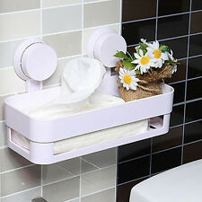 Bathroom Shower Corner Shelf Wall  Storage Rack Organizer with Suction Cup LT