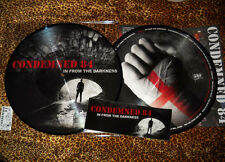 CONDEMNED 84 In From The Darkness LP picture disc Ltd 555 Oi Indecent Exposure