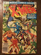 Uncanny X-men Annual 5 Marvel Comic Very Fine Minus Condition Wolverine 1981
