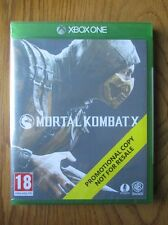 Mortal Kombat X PROMO – Xbox One ~ NEW & SEALED (Promotional Copy) Full Game