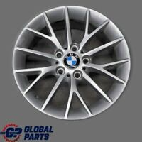 "BMW F20 F21 F22 F23 Silver Wheel Alloy Rim 17"" 7J ET:40 Y-Spoke 380 6796205"