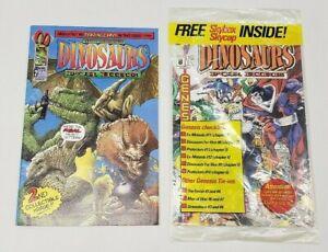 MALIBU Comics Dinosaurs for Hire #2 & #8 1993