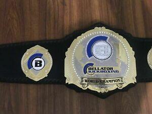 New BELLATOR Kickboxing World championship Replica Belt Adult Size