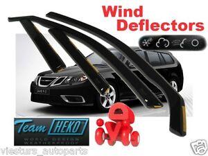 For SAAB 9-3   2002 - 2012  ESTATE / COMBI  Wind deflectors  4.pc  HEKO  28113