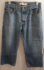 MEN'S LEVIS 569 JEANS Actual 33x27 Tag 33X30 LOOSE FIT STRAIGHT LEG  distressed