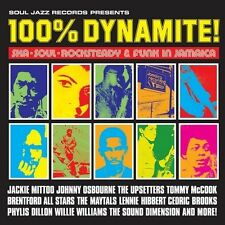 SOUL JAZZ RECORDS PRESENTS/100% DYNAMITE!-SKA,SOUL,ROCKSTEADY&FUNK...  CD NEU