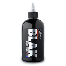 Allegory Premium Lining & Shading Tattoo Ink Blak Black 8 oz
