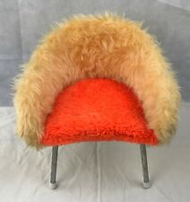 VINTAGE 60'S ORGINAL PETIT CHAISE ENFANT MOUMOUTE KITCH