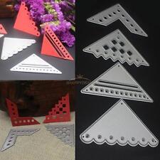 4 x Frame Metal Cutting Dies Stencil DIY Scrapbooking Embossing Paper Card Decor