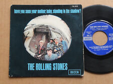 """DISQUE 45T THE ROLLING STONES  """" HAVE YOU SEEN YOUR MOTHER BABY STANDING .... """""""