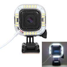 HOLACA USB Port 38 LED Flash Light Ring For GoPro Hero 4 5 Session Accessories