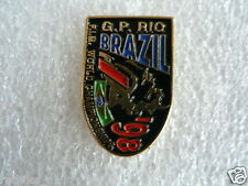 PINS,SPELDJES GRAND PRIX  MOTO GP 1998 GP RIO BRAZIL FIM WORLD CHAMPIONSHIP