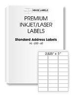 800 Sheets 24000 Labels FBA 1 x 2 5/8 Address Mailing Labels 30 UP 1 x 2.625