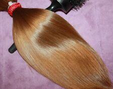 HUMAN HAIR HAIRCUT 12 IN 3.5oz CHILDS ULTRA BABYFINE GOLDEN BLONDE PONYTAIL F55
