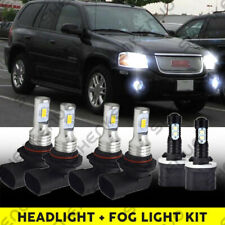 Headlights Set fits 2002-2009 Gmc Envoy / Xl & Xuv Pair Headlamps w/ Housing (Fits: More than one vehicle)