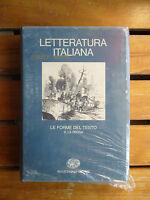 LETTERATURA ITALIANA volume 3** le forme del testo II LA PROSA Einaudi 1984