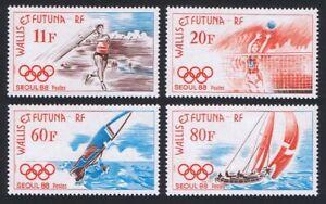 Wallis and Futuna Olympic Games Seoul 4v 1988 MNH SG#535-538 MI#555-558
