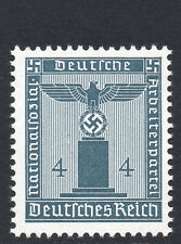 Germania 1942 ufficiale questione EAGLE / SVASTICA 4pf slate-blue BELLE MINT NH / MNH