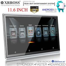 XRROSS 11.6 inch HD1080P Android 6.0 WIFI BT HDMI Headrest Rear Seat Monitor x1