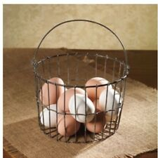 """The Country House Collection Granny's Wire Basket 7 X 4.5"""""""