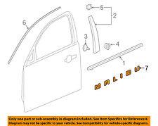 Chevrolet GM OEM 16-18 Malibu Front Door-Emblem Badge Nameplate 23125916