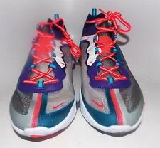 Nike React Element 87 Shoes Black/Red Orbit/White New (Poor Box)