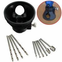 1 Mini Schleifer Zubehör Multifunktionswerkzeug +10 Multi Tool Spiralbohrer Set