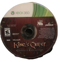 King's Quest Complete Collection Xbox 360 Game Disc 10e  5 chapters Super Rare