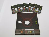 Star Wars X-Wing Miniatures Game Rebel Ship Token Cards New
