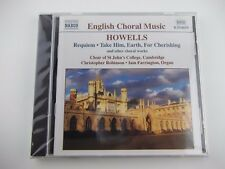 English Choral Music, HOWELLS, Requiem Take Him Earth For Cherishing, Organ CD