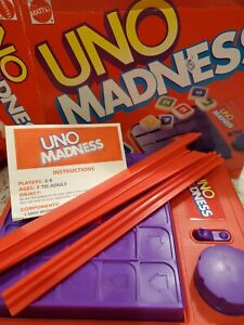 Uno Madness Game 1995 by Mattel