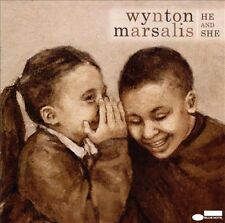 He and She by Wynton Marsalis (CD, Mar-2009, Blue Note (Label))