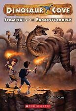 Stampede of the Edmontosaurus (Dinosaur Cover #6)-ExLibrary
