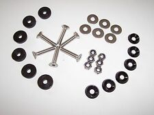 Kart Sol Plateau Kit de fixation, Karting Neuf Noir Kart parts UK