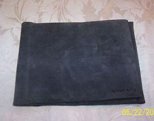 Volvo Tri-Fold Owners Manual / Documents Wallet Dark Grey (Used)