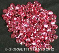 STRASS MC Stone collection 100pz SS16 4mm Rose rosa termoadesivi cristallo