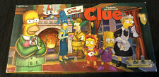 The Simpsons Clue Board Game Pewter Edition. Complete