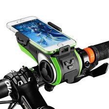 ROCKBROS Multifunction Bicycle Phone Holder Bike Light Bluetooth Audio
