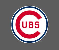Chicago Cubs Vintage 1957 - 1978 Logo Car Vehicle Window Bumper Decal 5x5