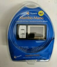 "Kaser Mambo-Mano Portable MP4 / MP3 Player 4GB  1.8"" LCD Color Screen"