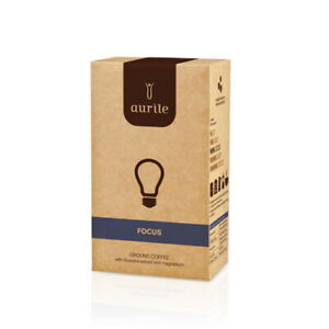 FM WORLD AURILE FUNCTIONAL COFFEE 250g FOCUS Ground Coffee with Guarana Extract