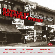 "BATTLE OF HASTINGS STREET  ""RAW DETROIT BLUES AND R&B FROM JOE'S RECORD SHOP"""