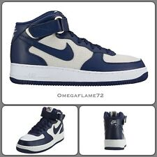 Nike Air 1 07 Mid Force, Navy & Bianco, 315123-412, UK 8, UE 42.5, US 9, AF-1