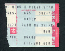 1977 Pink Floyd concert ticket stub Cleveland OH dIn The Flesh Tour Animals