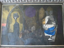 """""""Christ Before Pilate"""" by Dick Swift Etching Print, Singed & Numbered, Framed"""
